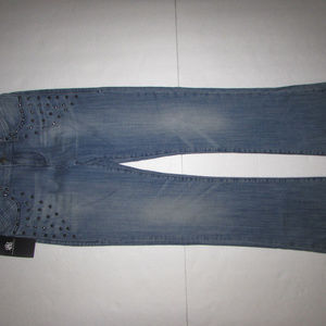 NEW-Women's Blue ROCK & REPUBLIC Boot Jeans 8M